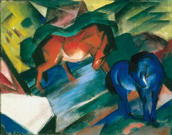 1311039-Franz_Marc_Cheval_rouge_et_cheval_bleu