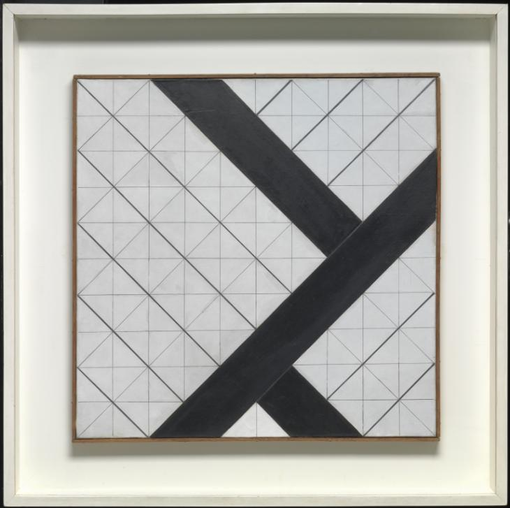 Counter-Composition VI 1925 by Theo van Doesburg 1883-1931